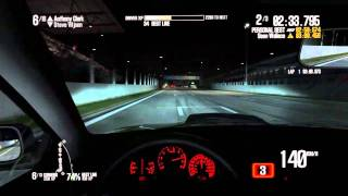 Need For Speed Shift 2 PC Version - Spa Night Race - Subaru