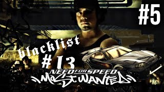 Need for Speed Most Wanted 2005 Gameplay Walkthrough Part 5 - BLACKLIST 13# VIC SUPRA