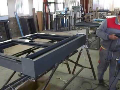 Instalaciones taller de aluminio y pvc 5 youtube - Carpinteria de aluminio en vigo ...