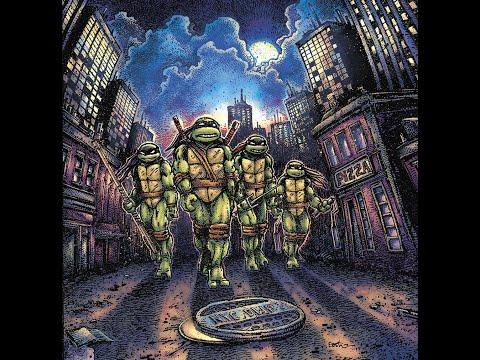 John Du Prez - Teenage Mutant Ninja Turtles (Soundtrack) (1990) 2018 [Vinyl Rip] Full Album HQ