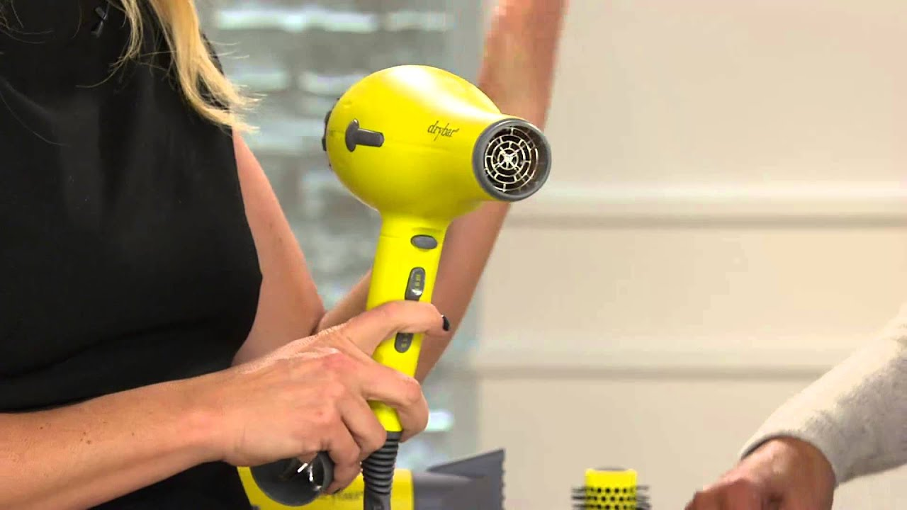 Drybar Buttercup Hair Dryer Perfect Blowout Collection with Rachel