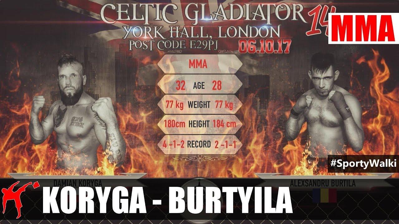 CG 15: Damian Koryga vs Alexsandry Burtila
