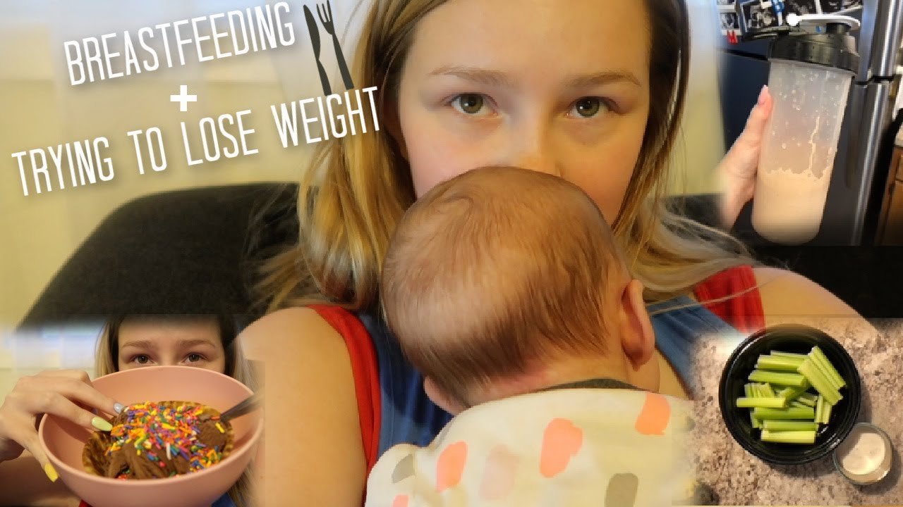 Struggling With Breastfeeding + What I Eat In A Day