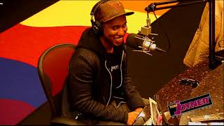 Chris Redd talks with the Tom Joyner Morning Show