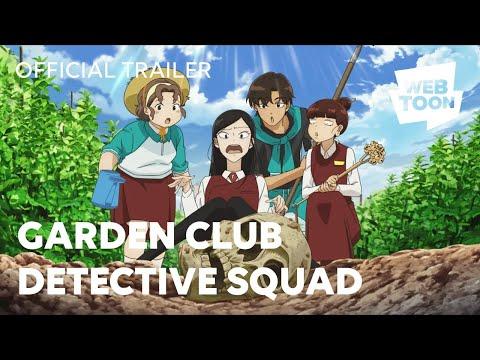 Garden Club Detective Squad (Official Trailer) | WEBTOON