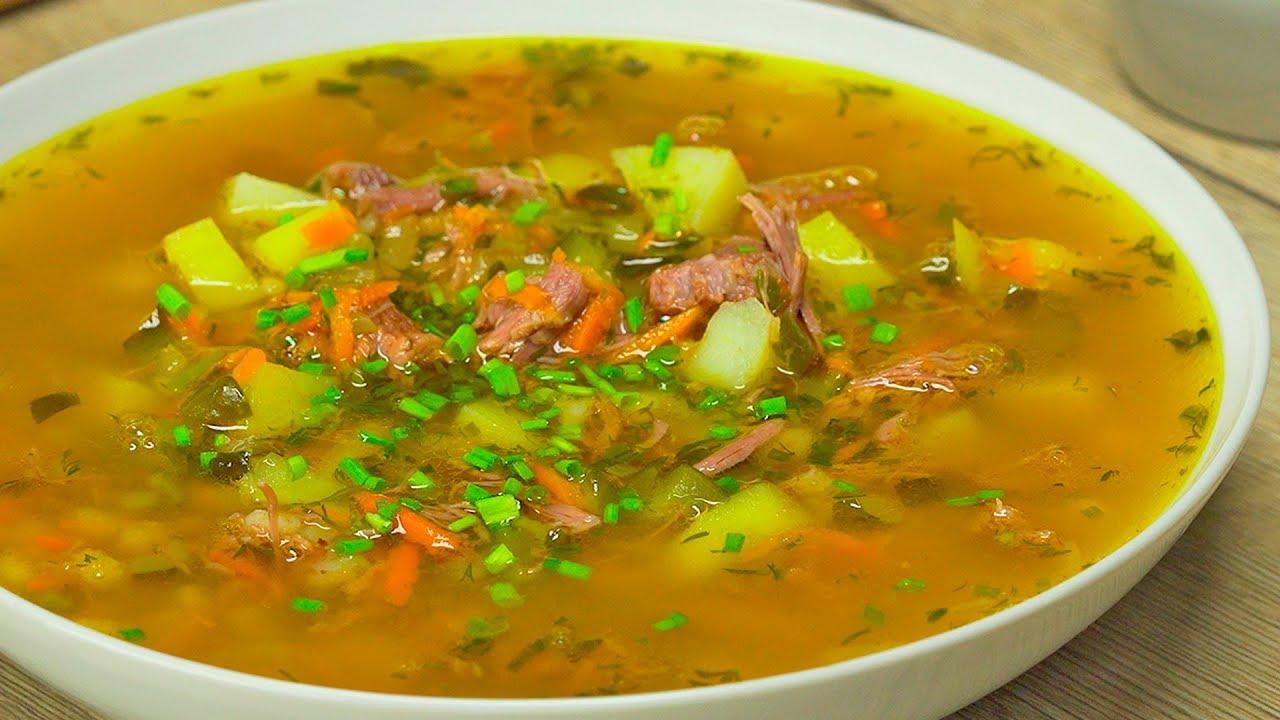 Рассольник для любителей хорошего супа. Рецепт от Всегда Вкусно!