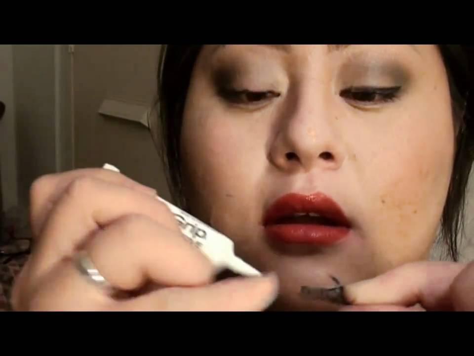 False Eyelash Glues Review Hd The Duo Ardell Lashgrip Elf