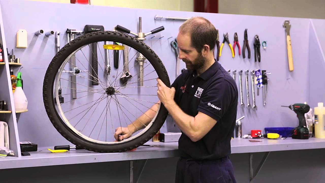 Tire Puncture Repair >> Bicycle Puncture Repair - Fixing A Flat Tyre Fast - YouTube