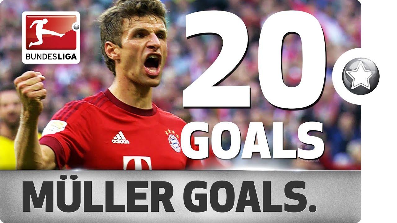 Thomas Müller All Goals 2015 16
