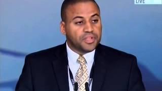 Darrel Bradley, Mayor of Belize City, West Indies at Jalsa Salana UK 2014