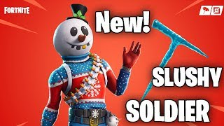 *New* Slushy Soldier Skin | Fortnite Season 7