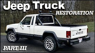 1987 Jeep Truck Restoration Project: Part 3 (New Rims & Sport Bar Install)