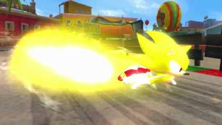 Sonic & SEGA All-Stars Racing (vehicle trailer) - Nintendo Wii/DS