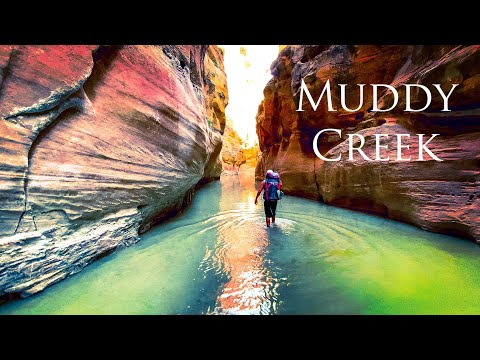 The Narrows of Muddy Creek, Backpacking Utah 6 days Wading Hiking San Rafael Swell w My Own Frontier