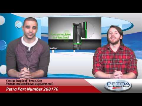 Travel Vacuum Insulated Snapseal™ Contigo 20oz Muggunmetal Byron lTFcJK1