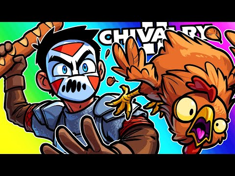 Chivalry 2 Funny Moments – Throwing Everything We Got At 'Em!