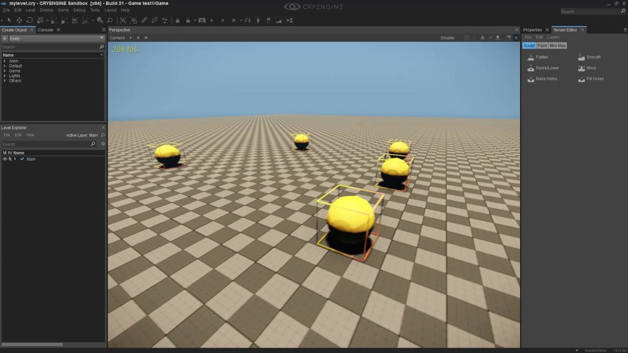 cryengine v how to switch between gamesdk and sandbox editor youtube