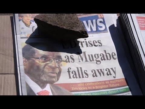 Zimbabwe: la démission de Mugabe à la une des journaux