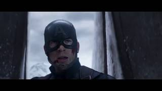 """Железный Человек против Капитана Америки в фильме """"Первый Мститель Противостояние"""""""