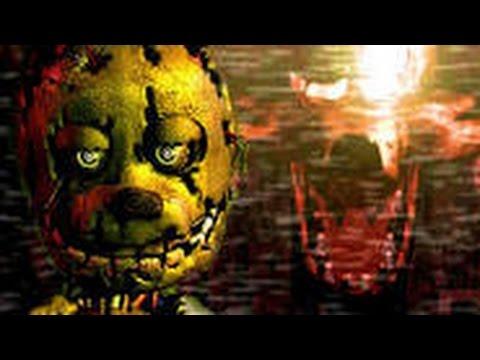 SHADOWGAMER 5 plays FNAF3-horror game
