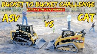 Caterpillar 289D vs ASV 75- Battle of the 74 hp skid steers
