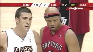 Lakers vs Raptors Jan 22 2006 Kobe 81 pts