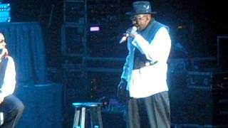 Bobby Brown Breaks Down at NE Concert 2/11/12 after death of Whitney Houston