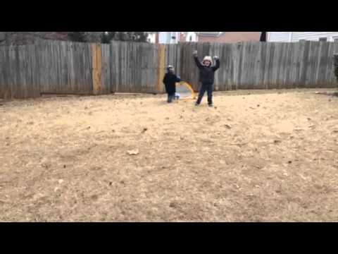 Noah & Eli Playing Soccer