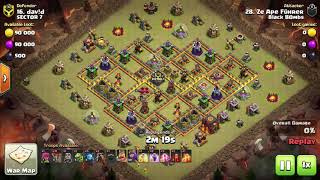 10v10 Sui Lalo | 8lack BOmbs vs Sector 7 | NDL | Clash of Clans