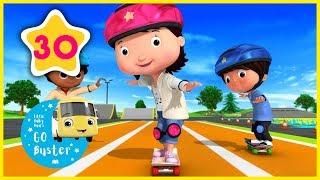 Skateboards Song! | Little Baby Bus | Nursery Rhymes | Songs for Kids