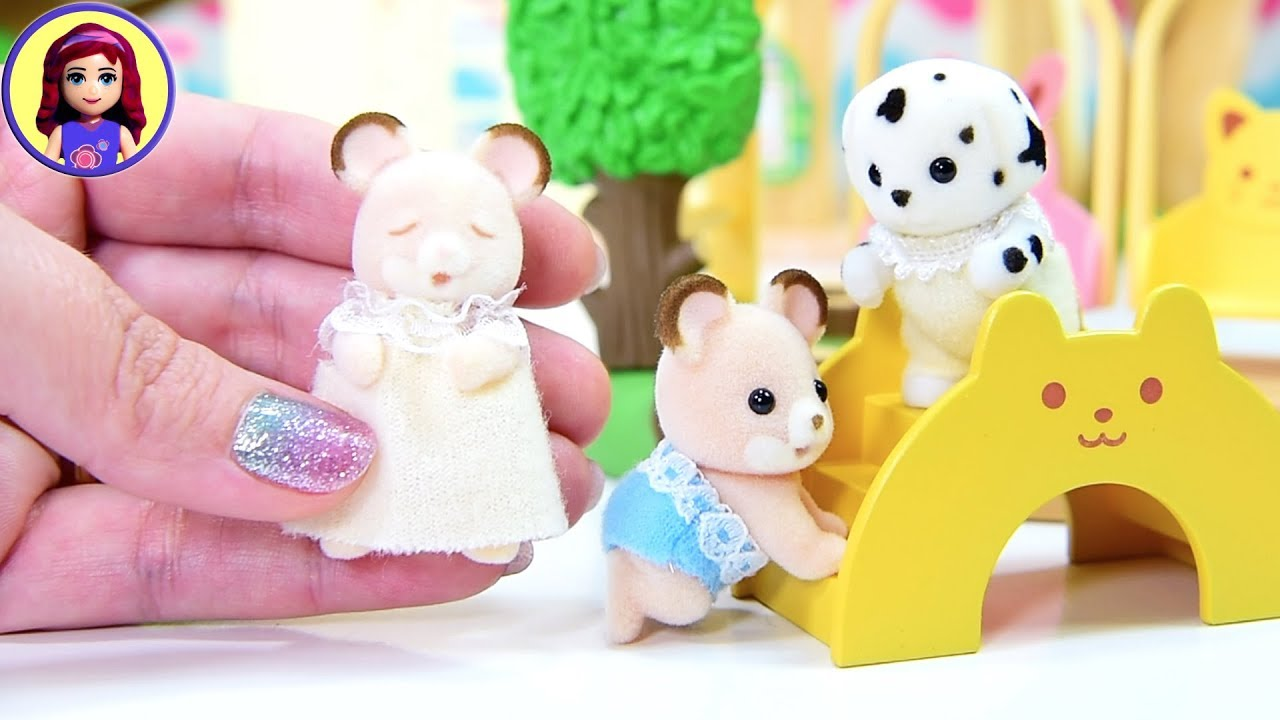 Opening Heaps Of Sylvanian Families Calico Critters Baby