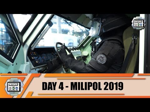 Milipol Paris 2019 Day 4 French Security Defense Industry Presents Counter-terrorism Equipment