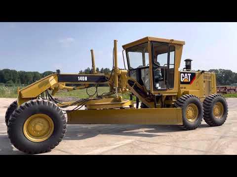 Used heavy machinery Caterpillar 140H Grader