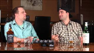 Cigar & Whisky Pairing: Dram Cask No. 4 with Laphroaig 10 Year Old & Jack Daniel