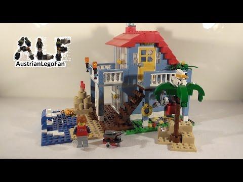 Lego Creator 7346 Seaside House / Strandhaus - Lego Speed Build Review