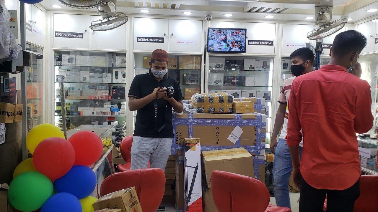 অবশেষে সব ক্যামেরা দেকান খুলে। কুরিয়ার মাধমে নিতে পারবেন। Camera service bd.