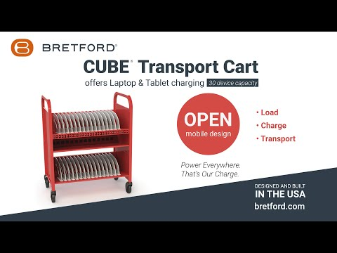 Bretford | CUBE® Transport Charging Cart