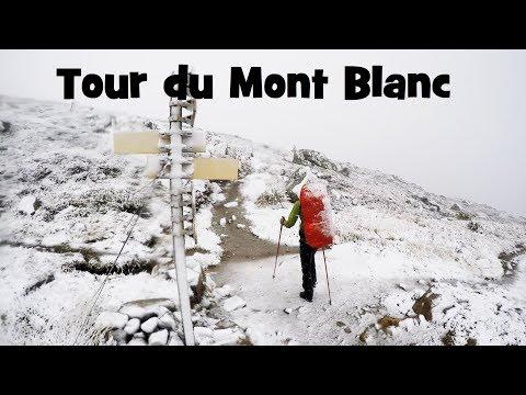 FULL ROUTE - Tour du Mont Blanc - Camping - GoPro.