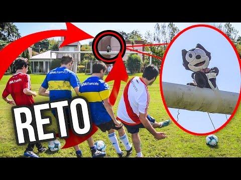 RETO FELIX ARRIBA DEL TRAVESAÑO CON CASTIGO   Crossbar Challenge