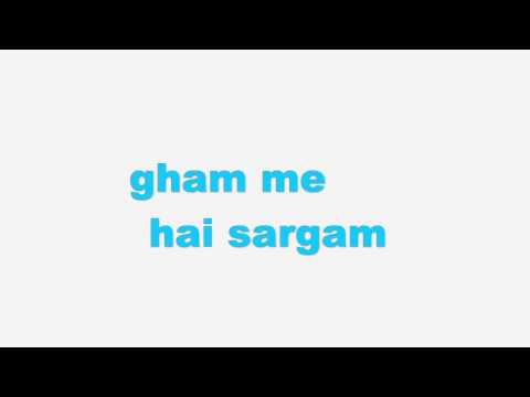 Gaaye jaa | Brothers | Mohd. Irfan| Karaoke/Instrumental with lyrics | Piano cover
