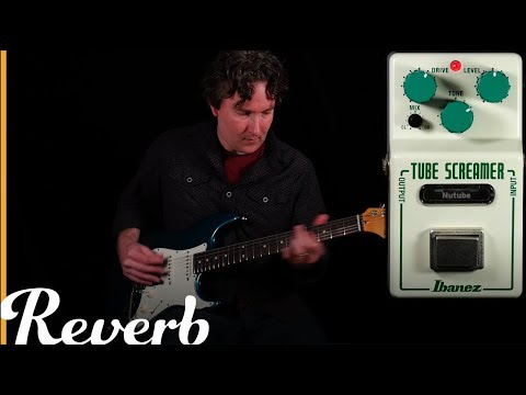 Ibanez NU Tubescreamer  Reverb Tone Report