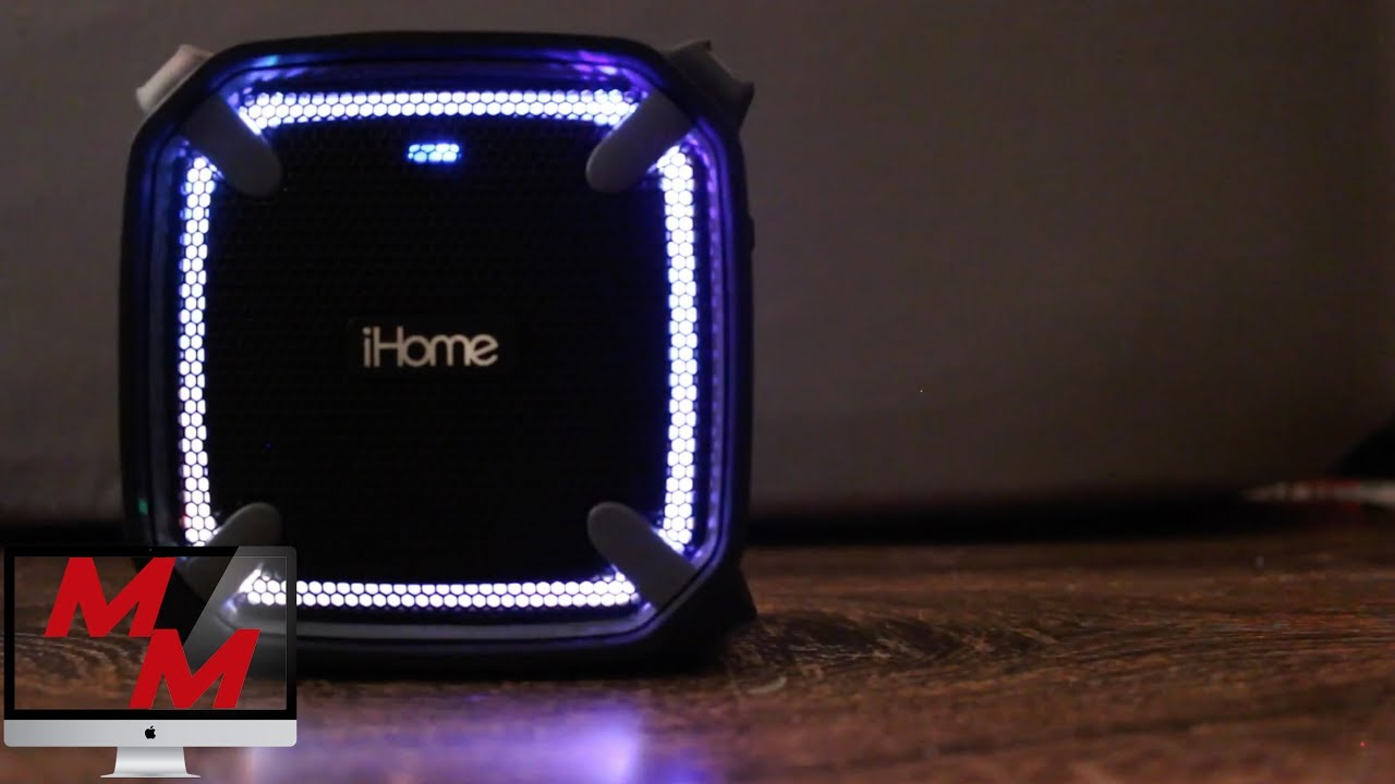 Bluetooth Speaker Review : iHome IBT10 mM