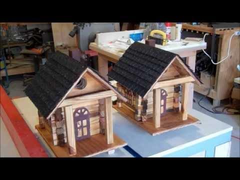 Superieur Building A Log Cabin Birdhouse