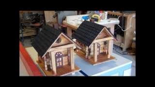 Building A Log Cabin Birdhouse