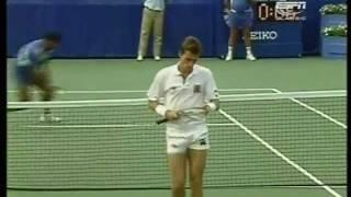 US Open 1988 F Wilander vs. Lendl 1/7