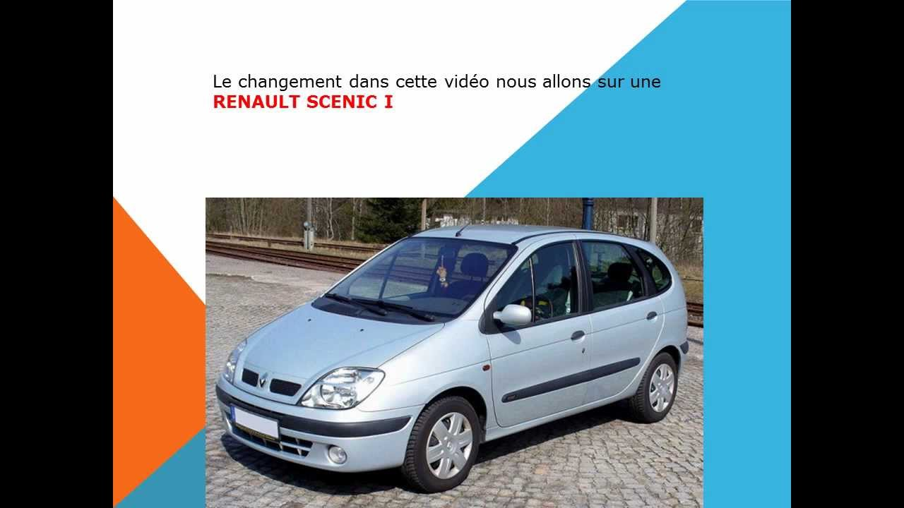 comment changer le filtre d 39 habitacle filtre anti pollen du renault scenic youtube. Black Bedroom Furniture Sets. Home Design Ideas