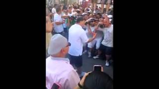 """Old Timers Day 2014 Frank """"Chich"""" Inzerelli Gets Made Apprentice Capo"""