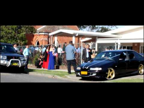 Wedding burnout sydney at tongan church