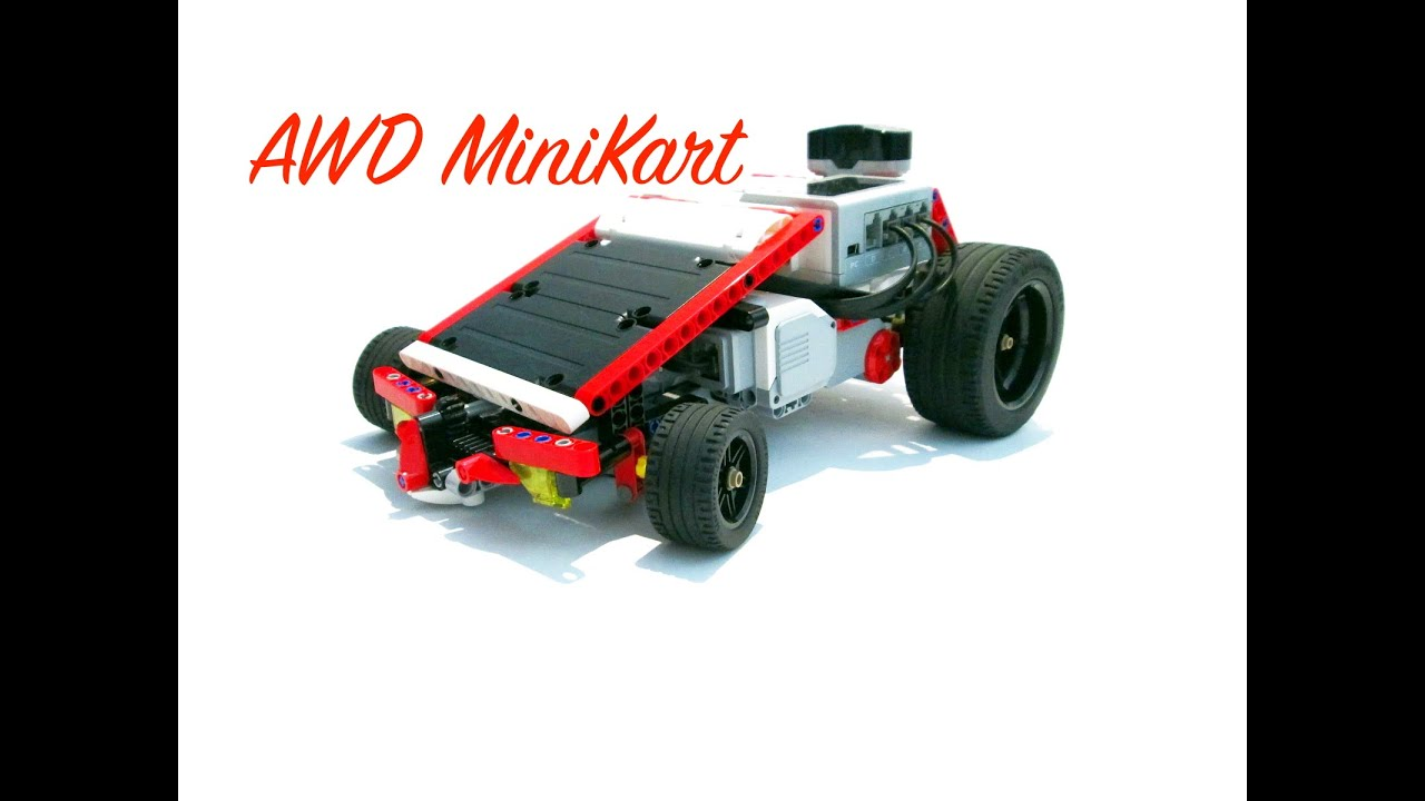 AWD MiniKart | 4-Wheel-Drive Go Cart – DamonMM2000