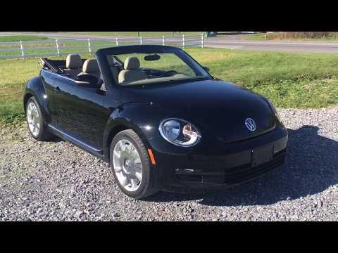 2014 Volkswagen Beetle 2.5L Convertible Premium Sound & Navigation
